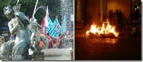 Dia de greve geral acaba mal.Nov2012
