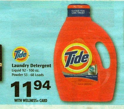 Preview the bottle of Tide in its glory