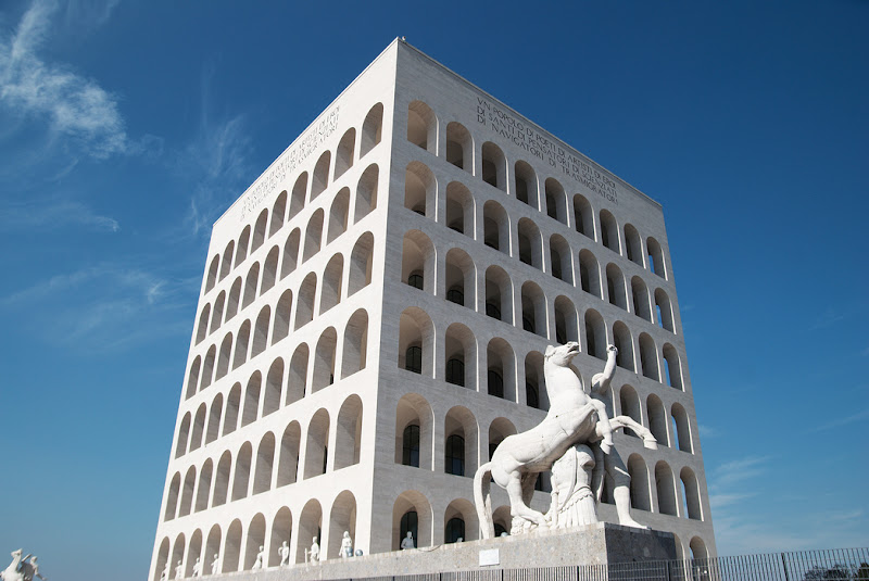 Modernist architecture in Rome, Italy