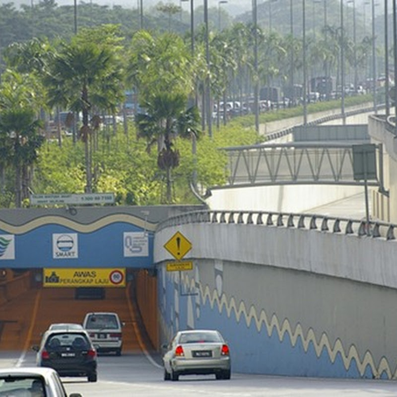SMART Tunnel in Kuala Lumpur: A Storm Water Tunnel With Built-in Motorway
