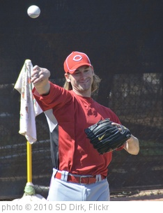 'Bronson Arroyo' photo (c) 2010, SD Dirk - license: http://creativecommons.org/licenses/by/2.0/