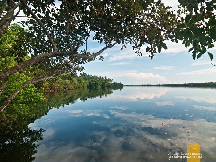 Reflectng the Sky at Lake Danao