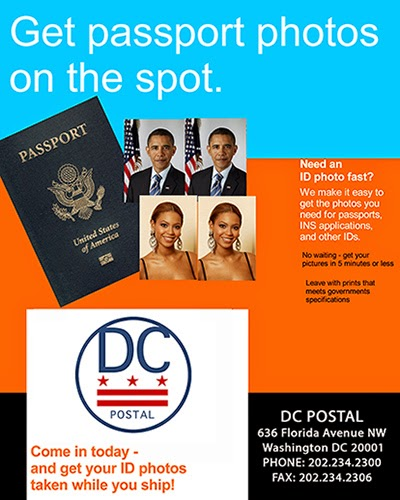 Get fast and convenient passport, picture ID, green card, and U.S. Dept. photos