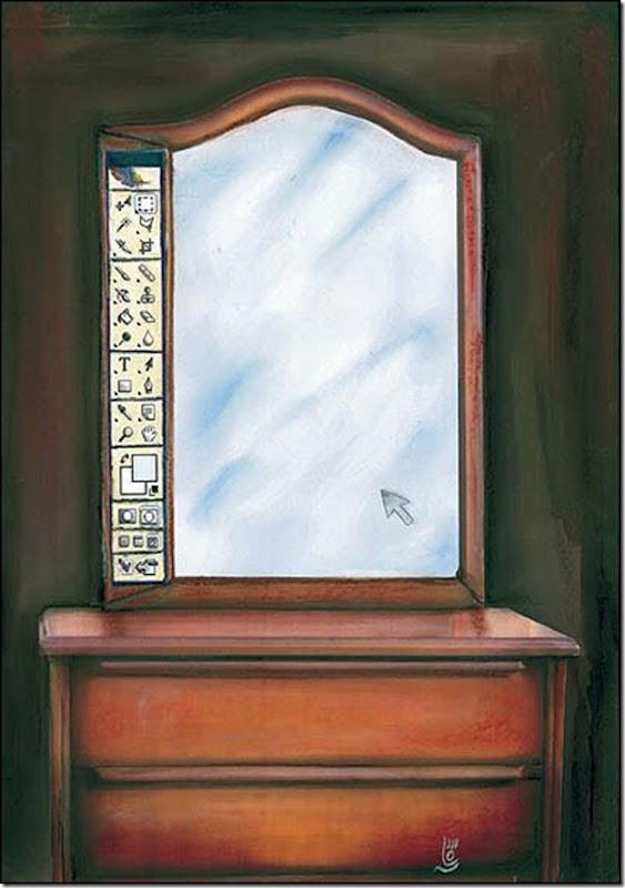 espelho dos sonhos de qualquer mulher