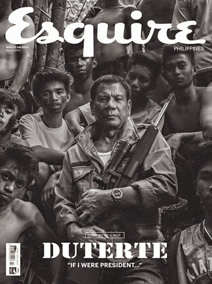 Rodrigo Duterte for Esquire PH March 2015