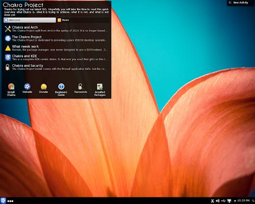 Chakra Linux 2013.01