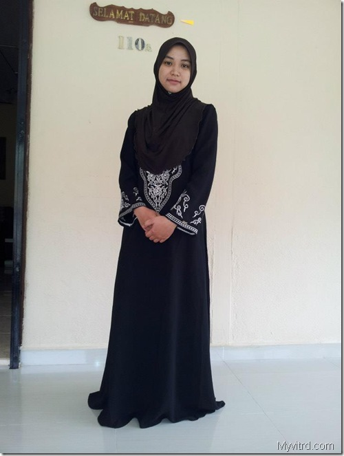 Abaya potongan Princess 1