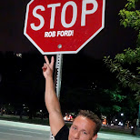 STOP Rob Ford! lol in Toronto, Ontario, Canada