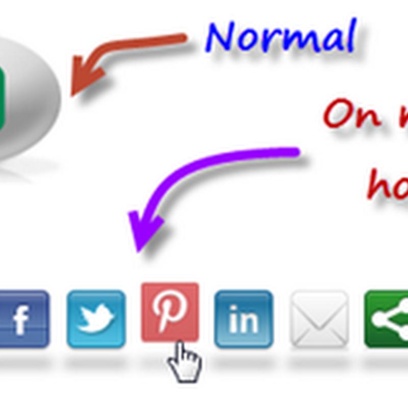 Incrível Widget Ovo Animado com botões para Redes Sociais