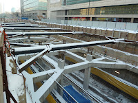 Konstrukcja stacji od góry Photo