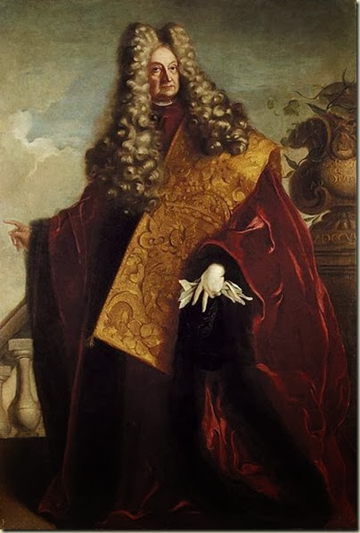 Portrait du doge Carlo Ruzzini