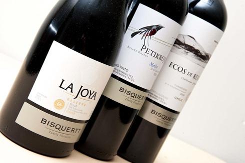 La Joya, Petirrojo y Ecos de Rulo-En cata Viña Bisquertt-4