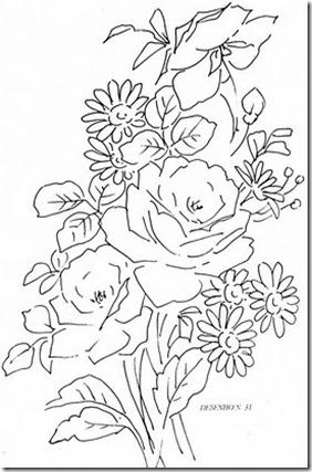 rosas e margaridas