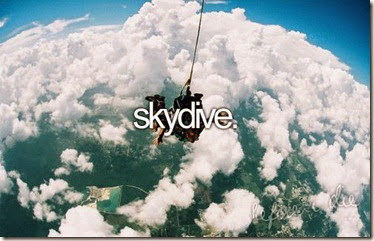 Bucket List - Skydive
