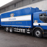 weihenstephan truck in Freising, Bayern, Germany