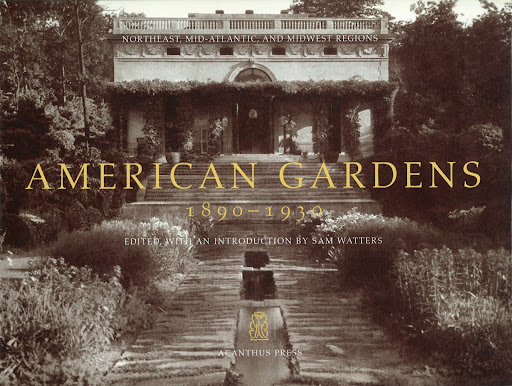 Welcome to the exclusive and gorgeous world of American private garden estates at the turn of the century.