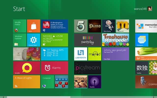 Muat turun Windows 8 Developer Preview
