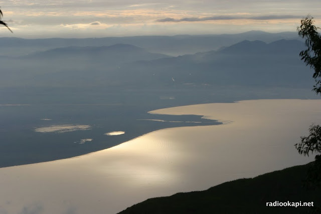 Le delta de la rivière Ruzizi qui se déverse dans Lac Tanganyika, Sud Kivu, 2006.