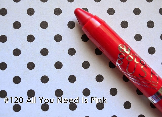 rimmel london colour rush all you need is pink