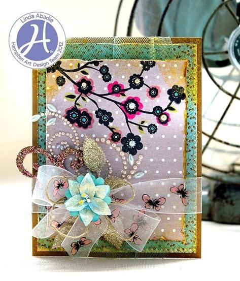 Linda Abadie Spring Season card