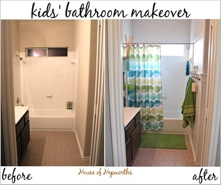 Beadboard Bathroom Makeover - House of Hepworths