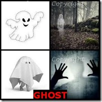GHOST- 4 Pics 1 Word Answers 3 Letters