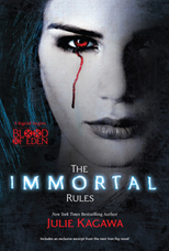 The Cover of The Immortal Rules by Julie Kagawa