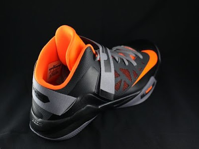 nike zoom soldier 6 gr black grey orange 2 01 New Nike Zoom LeBron Soldier VI   Black/Orange   Available