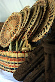 Traditional Woven Fans - Roseau, Dominica