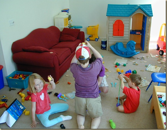 A Chaotic Playroom