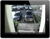 Viewtron DVR viewer iPad app remotely viewing an HD-AD40 weatherproof infrared HD-SDI dome camera