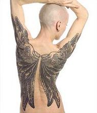 tatuagem asas de anjo 2