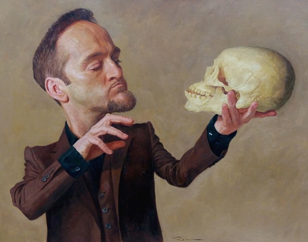 derren brown caricature