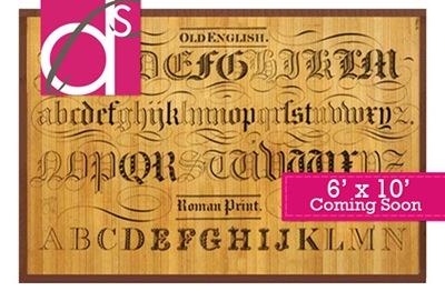typography-bamboo-rug