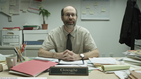 [Video] Cómo sería la vida de Google si fuese un empleado de oficina