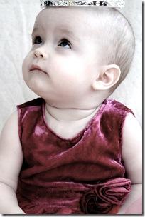 Lisa nästan 7 månader o svensk prinsessan e född! 021