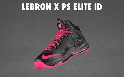nike lebron 10 ps elite id options preview 1 09 NIKE LEBRON X PS ELITE Coming to Nike iD on April 23rd