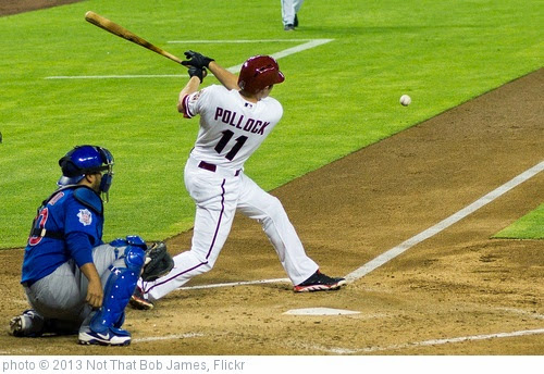 'CF A.J. Pollock' photo (c) 2013, Not That Bob James - license: https://creativecommons.org/licenses/by-nd/2.0/
