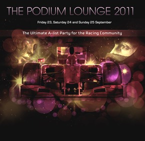 the podium lounge 2011 graphic