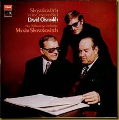Shostakovich Concierto para violin 1 Oistrakh EMI