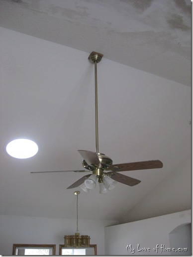 Updating ceiling fan
