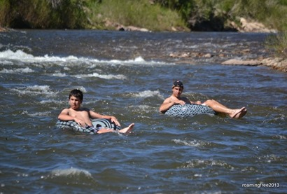 These rapids are no problem!