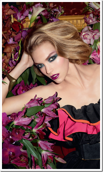 Fall Look Jardin de Minuit YSL