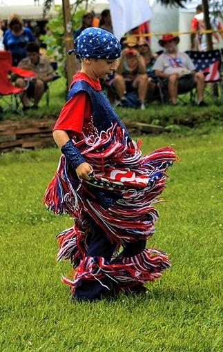 Lenape Powwow Fancy Dancer14