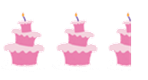 Two and a half Un-birthday cakes