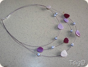 Collier Galaxie Violet - Mars 2011