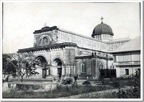 Manila Cathedral c1900
