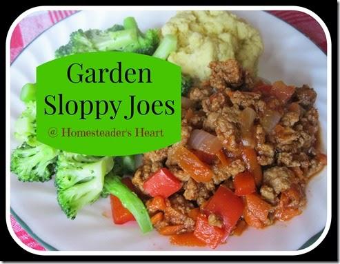Garden Sloppy Joes