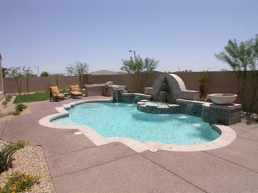 Backyard Swimming Pool Landscape Designss-17