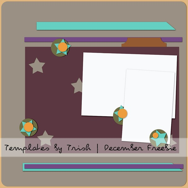 DecemberMSATemplate-Templates by Trish PREVIEW